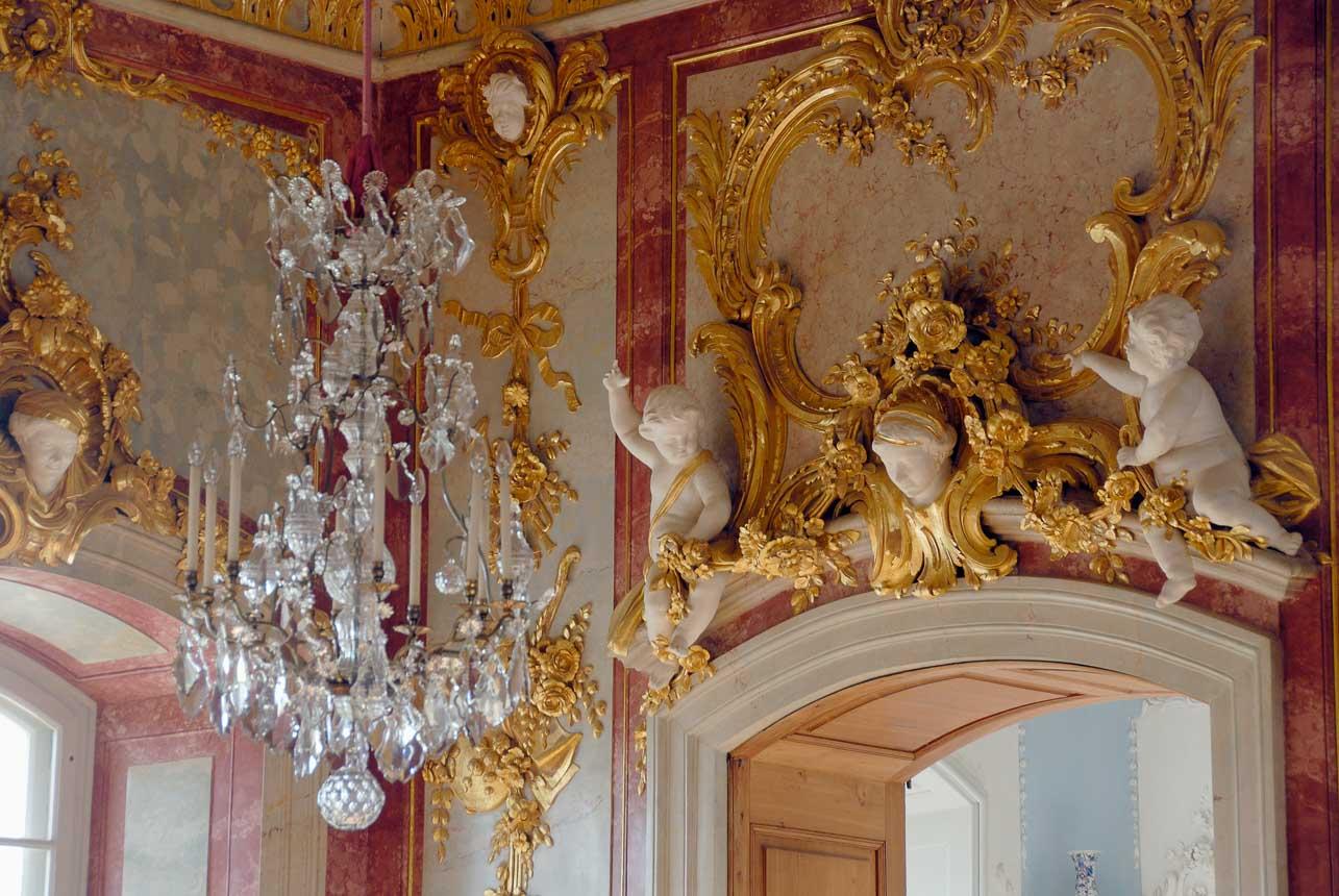 Barokke details in Slot Rundale