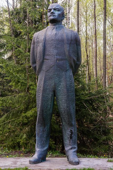 Grutas Park - Lenin. Uit de tijd dat De Russen heersten over de Baltische staten.