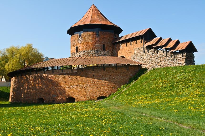 Het kasteel in Kaunas.