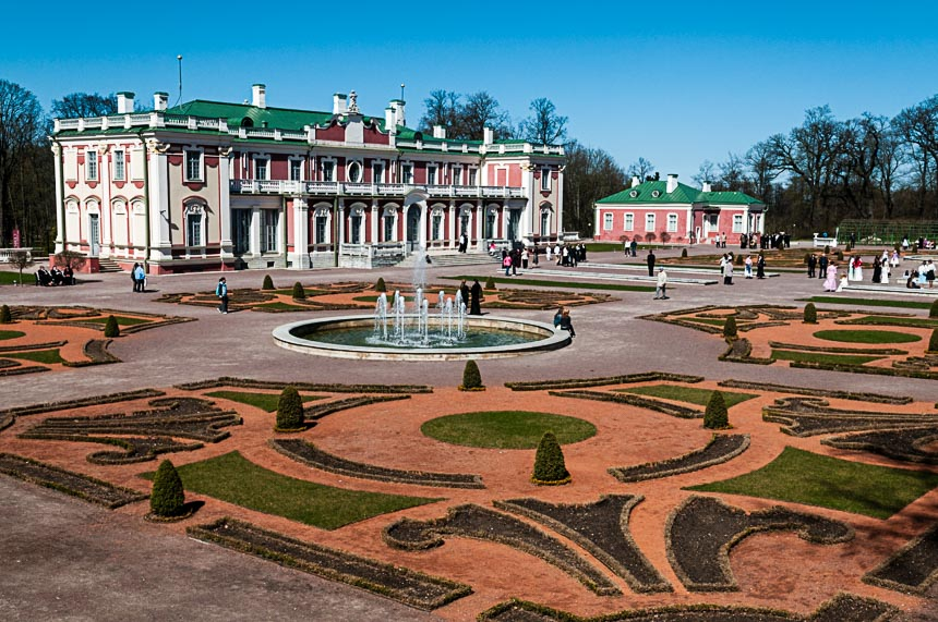 Het paleis aan Kadriog park