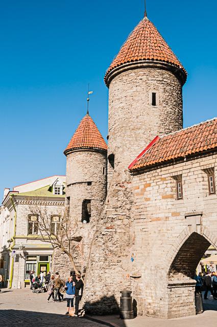 Middeleeuwse stadspoort - Viru Gate