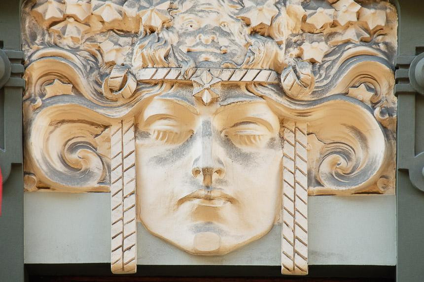 Riga-Art nouveau facade