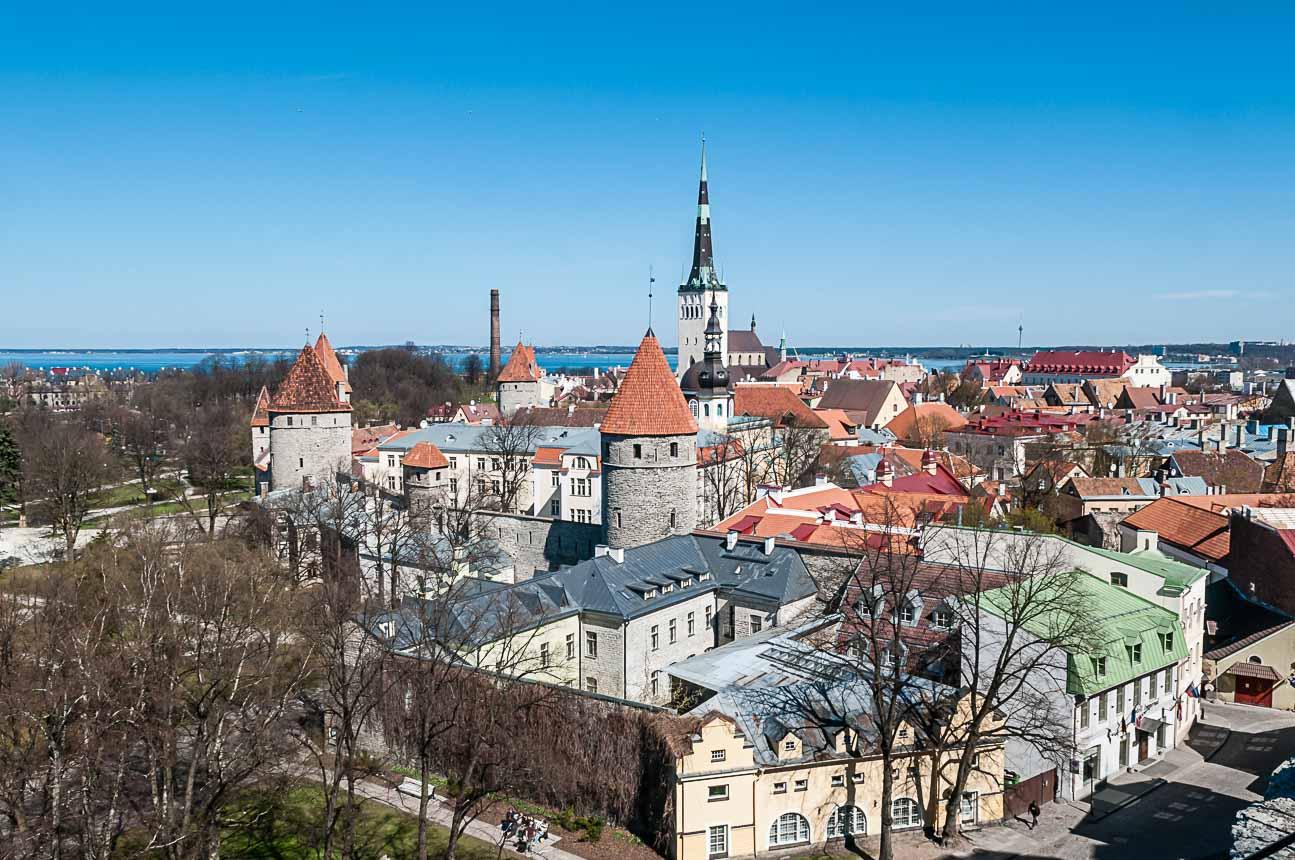 Roadtrip Baltische staten - de oude stad van Tallin