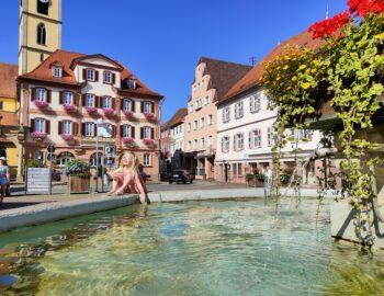 Kuuroord Bad Mergentheim in het mooie Taubertal