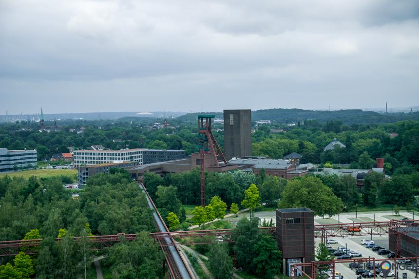 Uitzicht Ruhrmuseum