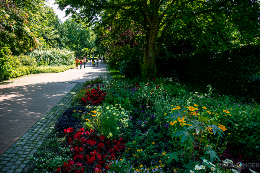 De groene oase van het Grugapark