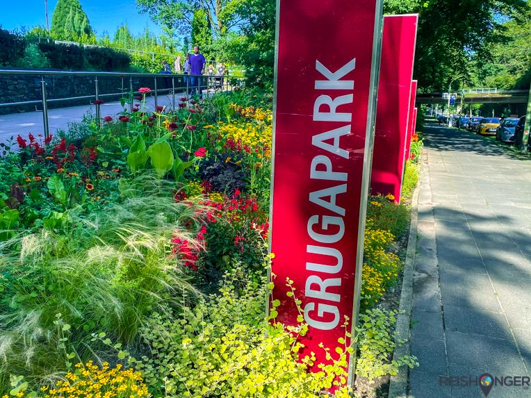 Het Grugapark in Essen