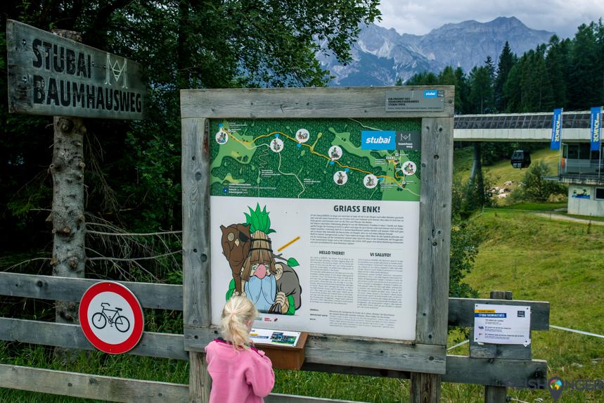 Stubai Baumhausweg - boomhuttenpad