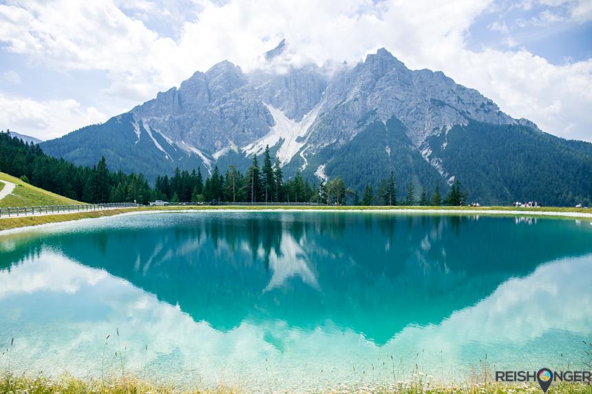 Serles Bergmeer Alpen Panorama