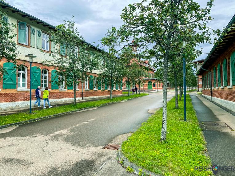 Het voormalig militaire kamp genaamd Albgut