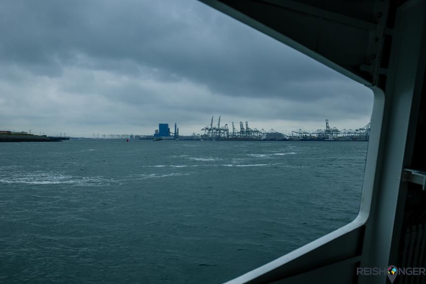 Met de fast ferry naar Hoek van Holland