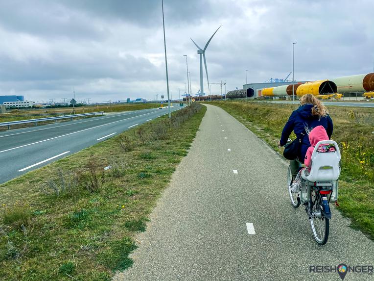 Fietsen Hoek van Holland