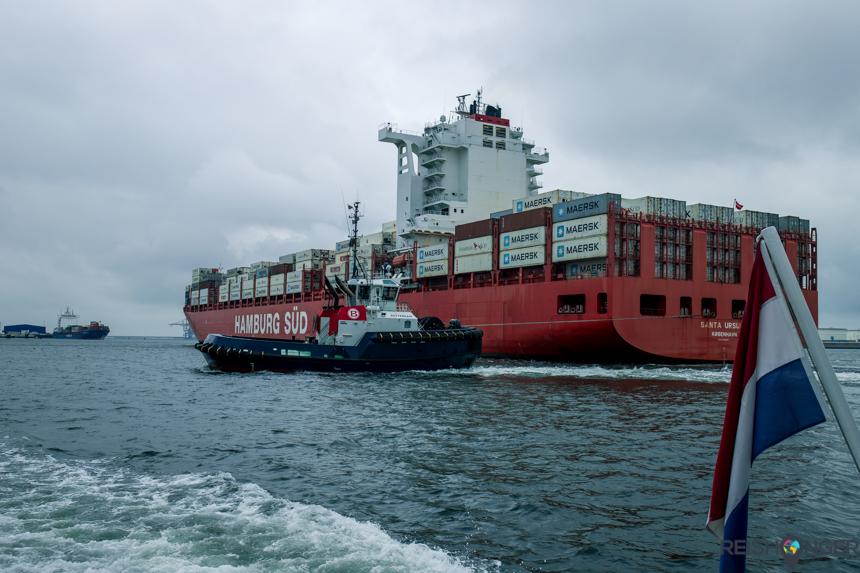 Containerschip Maasvlakte