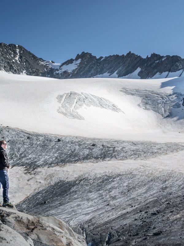 Uitzicht Gletsjer Val Thorens - Friso van Wassenaer