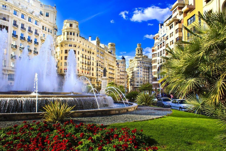 Valencia leukste stad Spanje