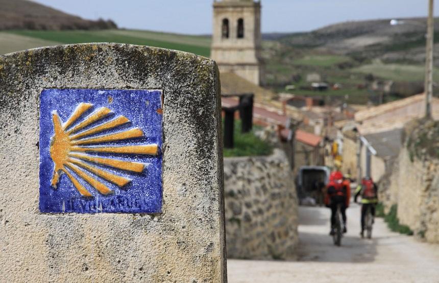 Fietsen naar Santiago de Compostela