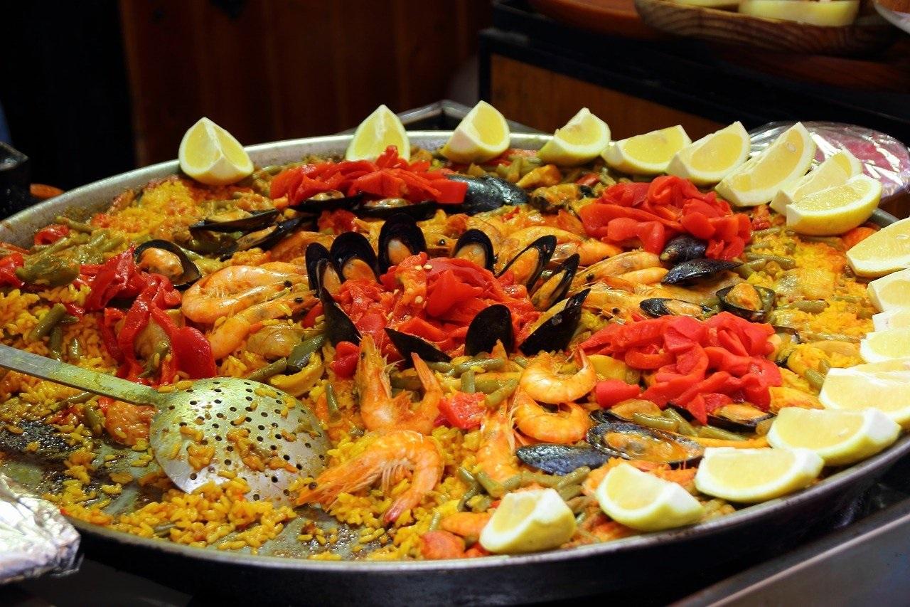 paella Spanje