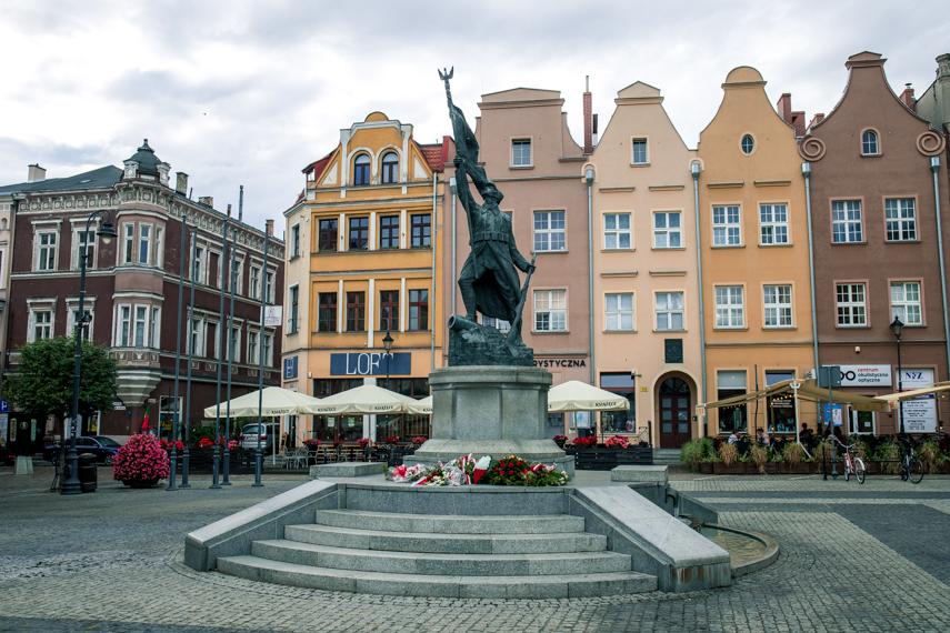 Polen Koejavië Pommeren Grudziadz