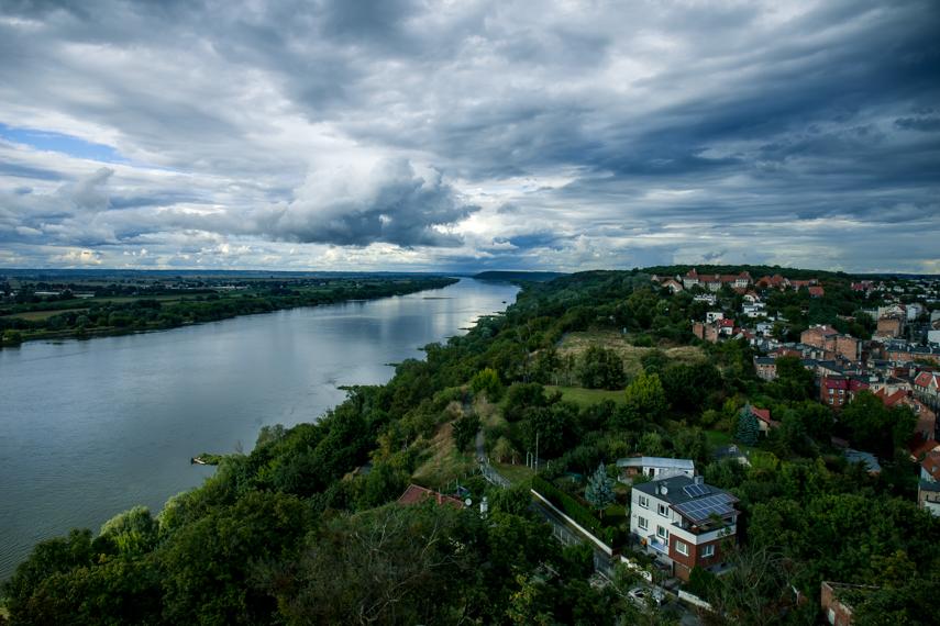 Polen Koejavië Pommeren Grudziadz uitzicht