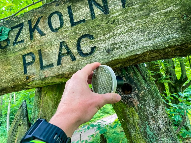 Polen Koejavië Pommeren Gorzno geocache