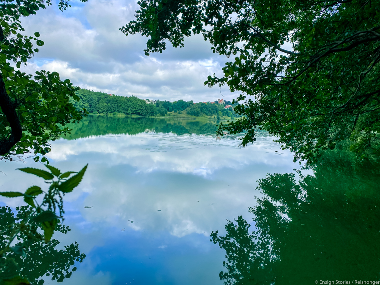 Polen Koejavië Pommeren Gorzno meer