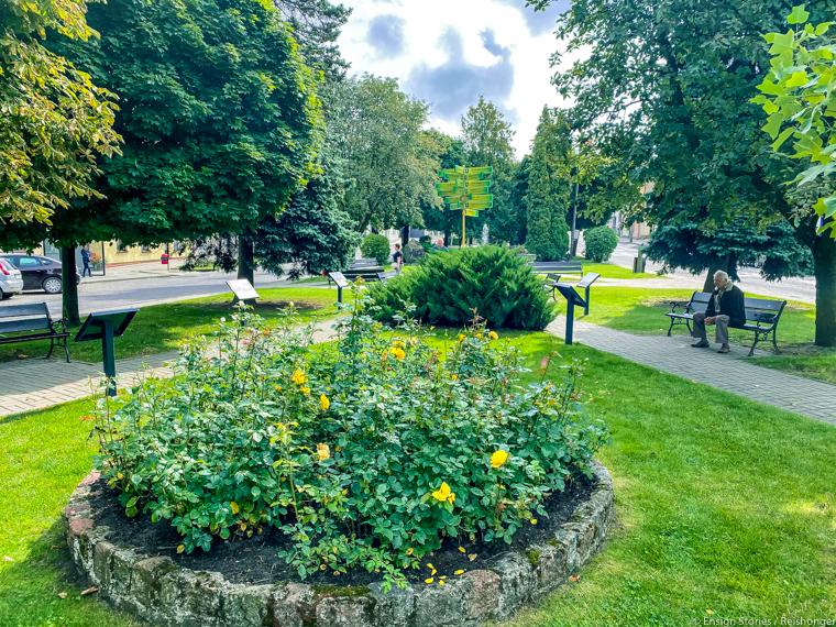 Polen Koejavië Pommeren Gorzno park