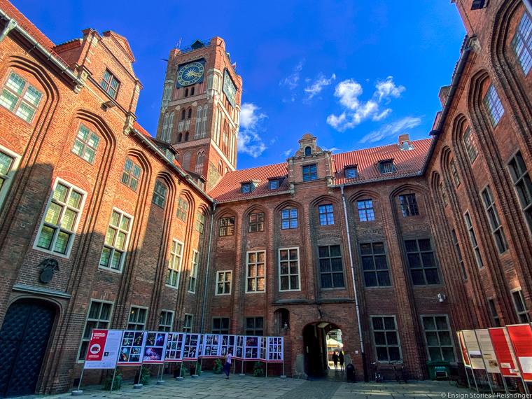 Koejavië-Pommeren Polen Torun stadhuis