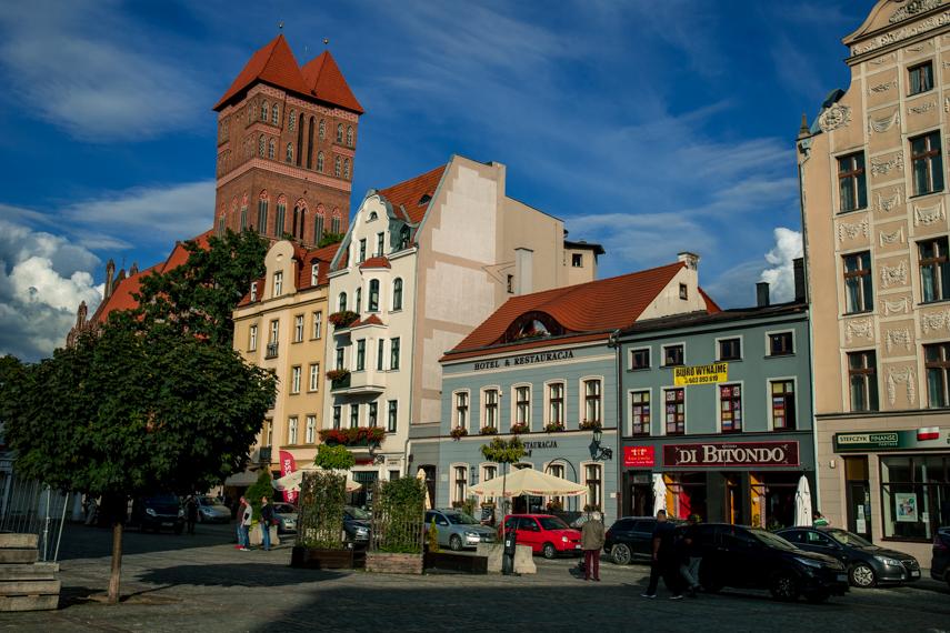 Koejavië-Pommeren Polen Torun nieuwe stad