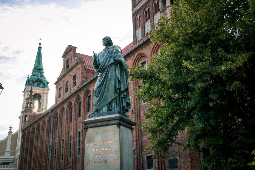 Koejavië-Pommeren Polen Torun Copernicus