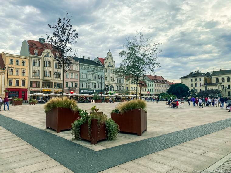 Koejavië-Pommeren Polen Bydgoszcz plein