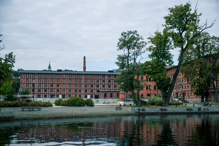 Koejavië-Pommeren Polen Bydgoszcz Mills Island
